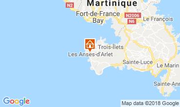 Karte Anses d'Arlet Appartement 117070