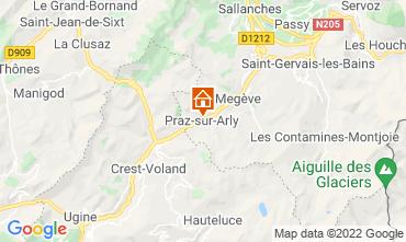 Karte Praz sur Arly Appartement 2299