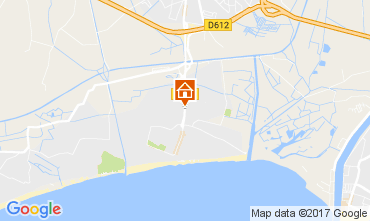 Karte Vias Plage Mobil-Home 107762