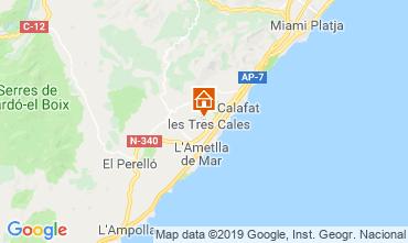 Karte La Ametlla de Mar Villa 118601