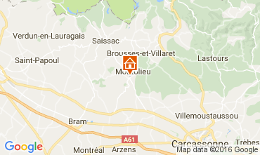 Karte Montolieu Haus 100502