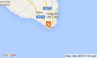 Karte Santa Maria di Leuca Appartement 104223