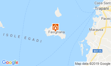 Karte Favignana Appartement 118659