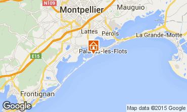 Karte Palavas-les-Flots Mobil-Home 96103