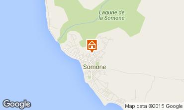 Karte La Somone Appartement 69600