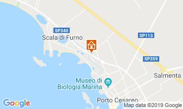 Karte Porto Cesareo Appartement 118084