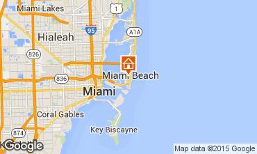 Karte South Beach Appartement 33593