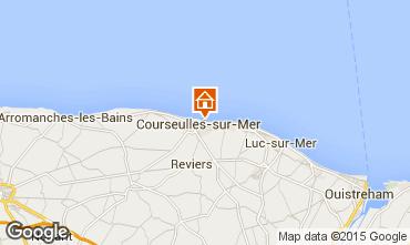Karte Courseulles-sur-Mer Appartement 90674