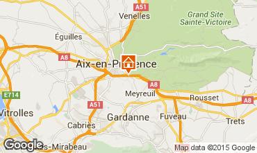 Karte Aix en Provence Appartement 91917