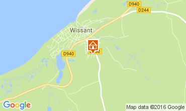 Karte Wissant Haus 62217