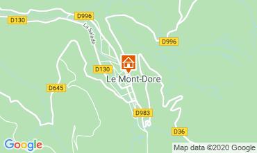 Karte Le Mont Dore Appartement 28412