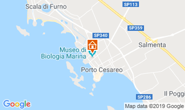 Karte Porto Cesareo Appartement 83720