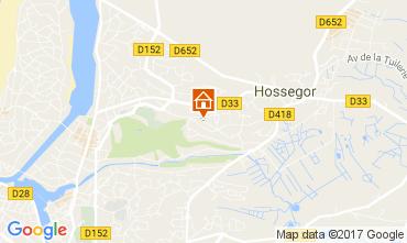 Karte Hossegor Appartement 107450