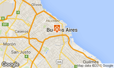 Karte Buenos Aires Fremdenzimmer 102146