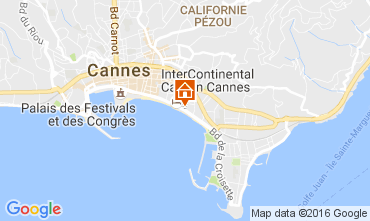 Karte Cannes Appartement 88551