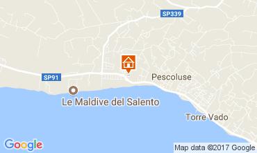 Karte Pescoluse Appartement 110707