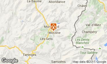 Karte Morzine Appartement 39671