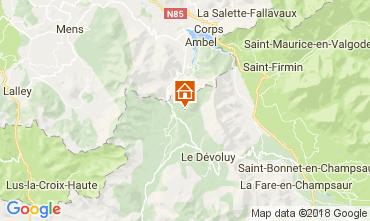 Karte Superdévoluy- La Joue du Loup Chalet 112275