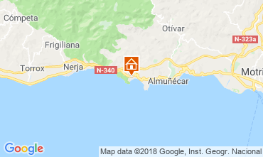 Karte Almuñecar Appartement 116613