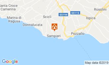 Karte Ragusa Appartement 71458
