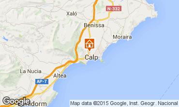 Karte Calpe Bungalow 27961