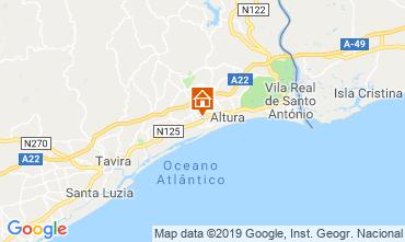 Karte Tavira Villa 117553