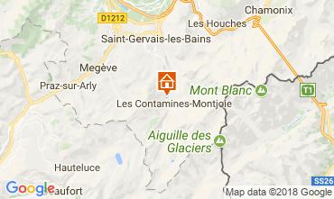 Karte Les Contamines Montjoie Appartement 111733