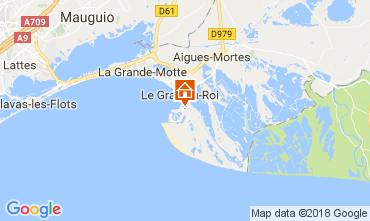 Karte Le Grau du Roi Villa 90171