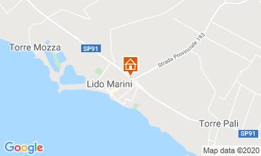 Karte Lido Marini Villa 86584