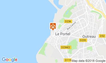 Karte Boulogne/mer Ferienunterkunft auf dem Land 108614
