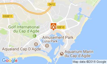 Karte Cap d'Agde Studio 113024