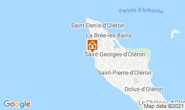 Karte Saint Georges d'Oléron Haus 117753