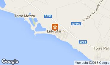 Karte Lido Marini Villa 86623