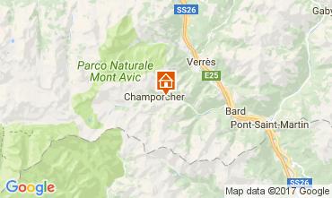 Karte Champorcher Chalet 109284