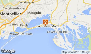 Karte La Grande Motte Studio 98959