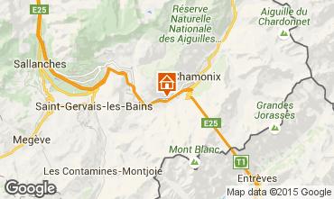 Karte Chamonix Mont-Blanc Appartement 648