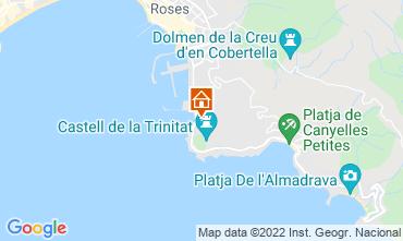 Karte Rosas Appartement 68687