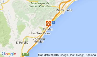 Karte La Ametlla de Mar Villa 82117