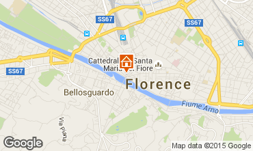 Karte Florenz Appartement 73773
