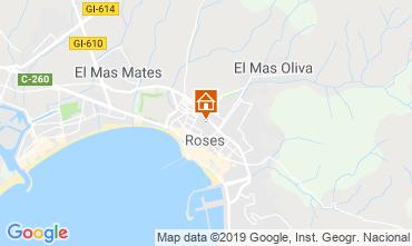 Karte Rosas Appartement 78804