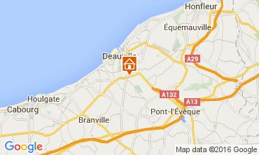 Karte Deauville Mobil-Home 103680
