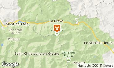 Karte La Grave - La Meije Appartement 39406