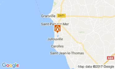 Karte Granville Appartement 14523
