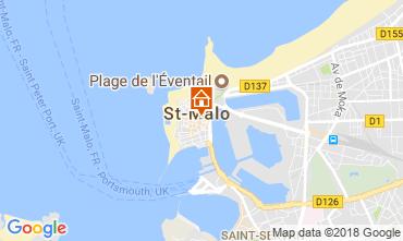 Karte Saint Malo Appartement 115835