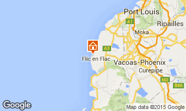 Karte Flic-en-Flac Appartement 94733