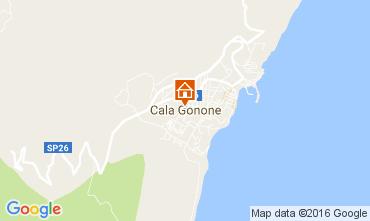 Karte Cala Gonone Appartement 106617