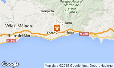 Karte Nerja Ferienunterkunft auf dem Land 74116