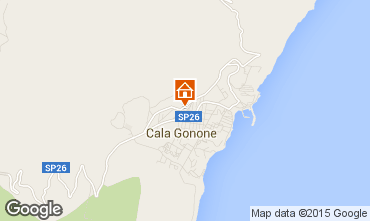 Karte Cala Gonone Appartement 95071