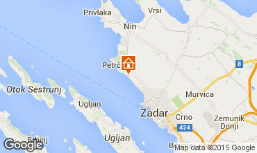 Karte Zadar Appartement 44376