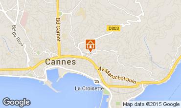 Karte Cannes Appartement 72431